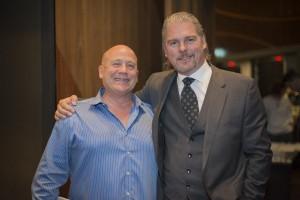 2015 - Carl with Dr Howard Farran